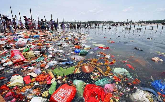 POLLUTION IN CAUVERY RIVER