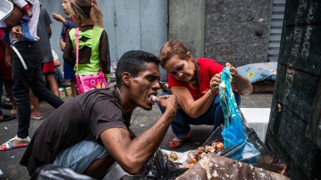 Venezuela hungry