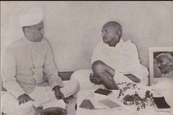 radha krishnan and gandhi