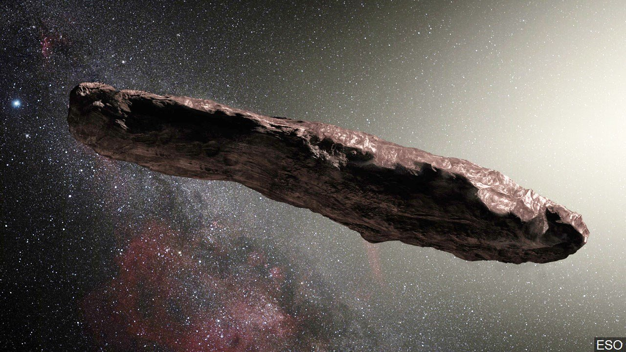 cigar shaped asteroid