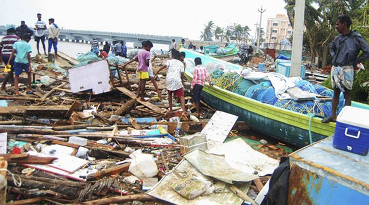 cyclone gaja relief fund