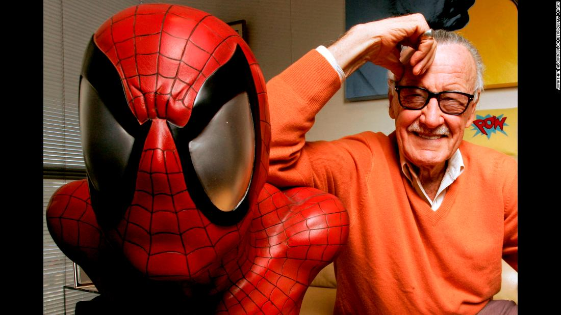 stan lee spider man