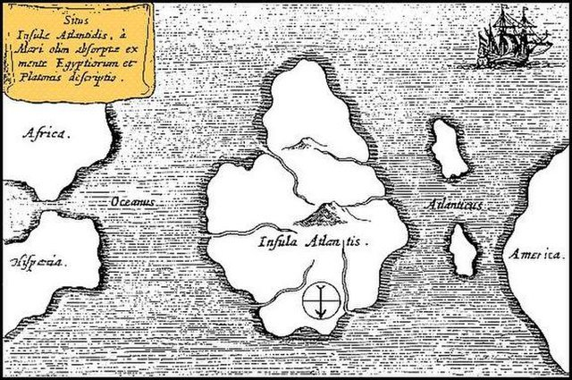 atlantis mystery island