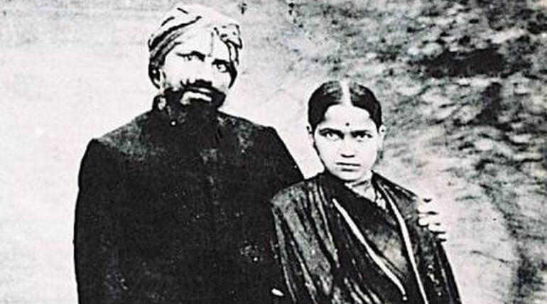 bharathiyar-and-his-wife