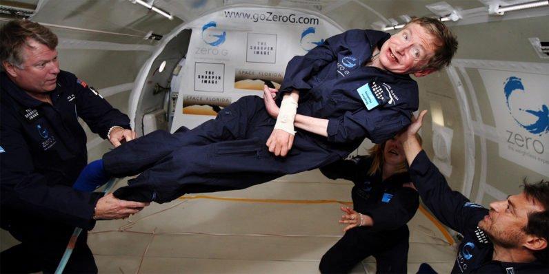 Stephen Hawking Space Experience