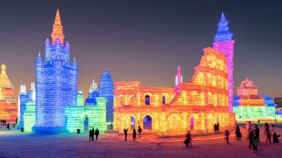 china harbin-ice-festival