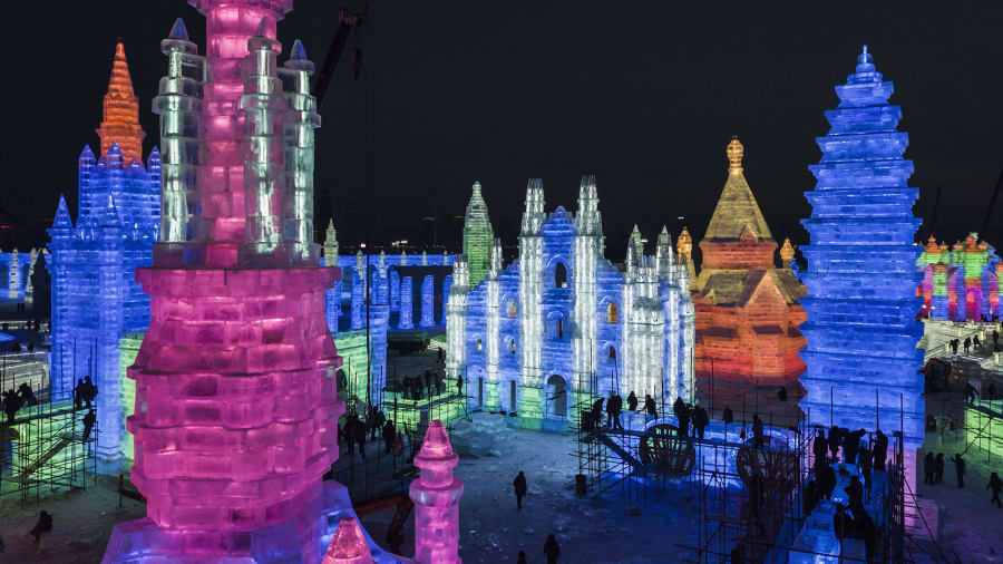 harbin-ice-festival china