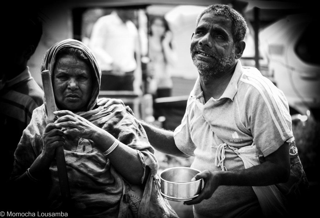 old poor people