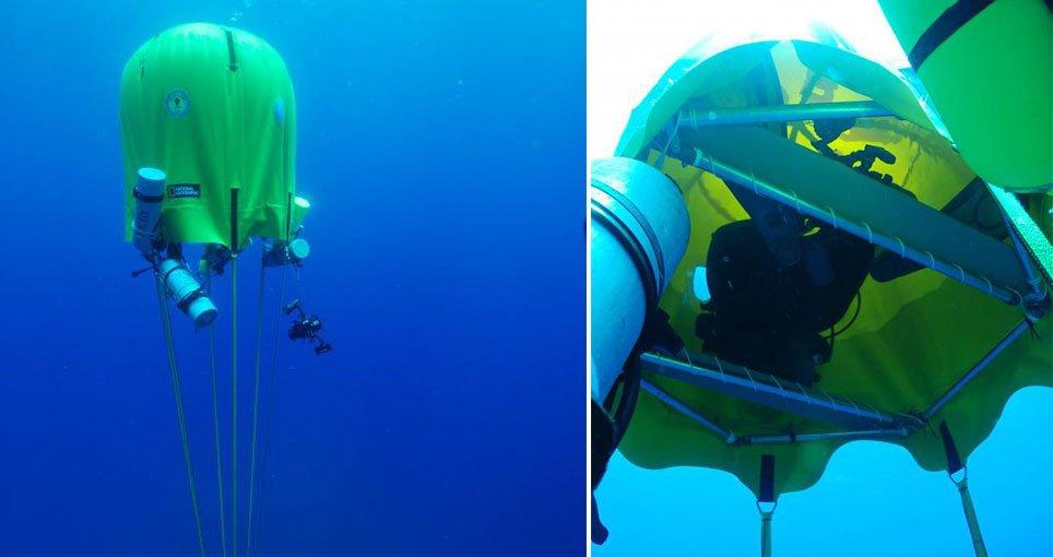 portable underwater decompression habitat