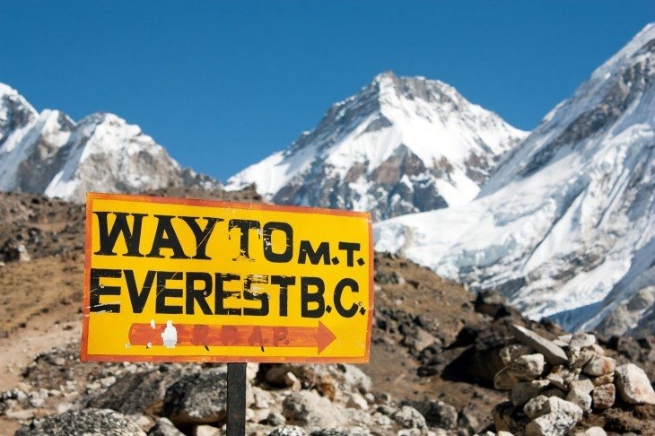 way to mount everest
