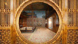 juanqinzhai-moon-gate-after-conservation