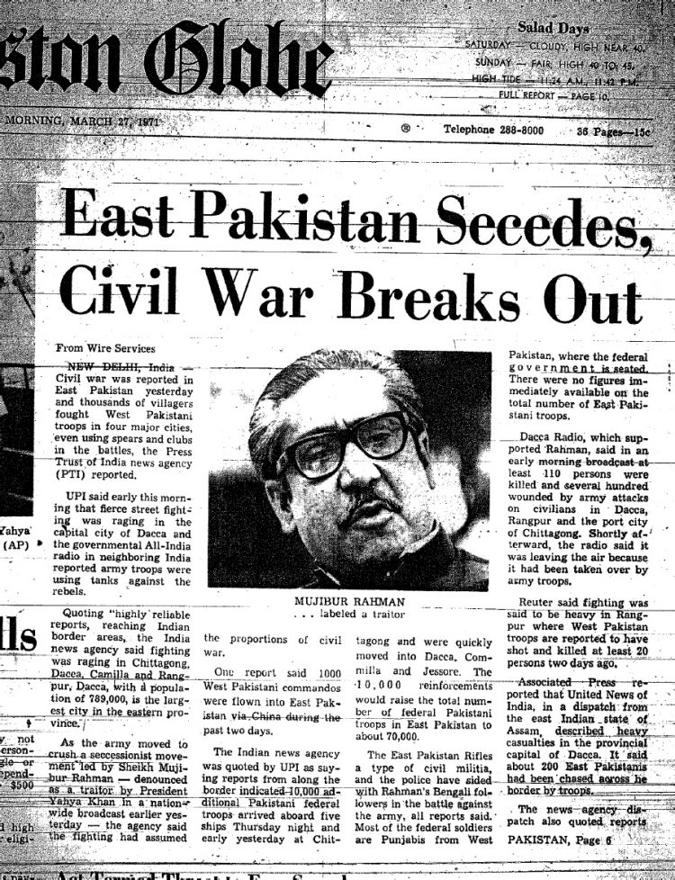 east-pakistan-secedes-civil-war-breaks-out-boston-globe-march-27-1971