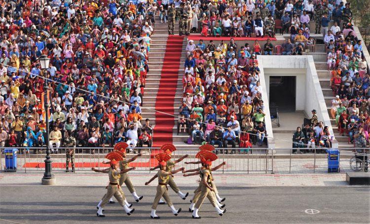 wagah+border+parade